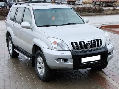 Toyota Land Cruiser Prado J120 Helios Running Boards
