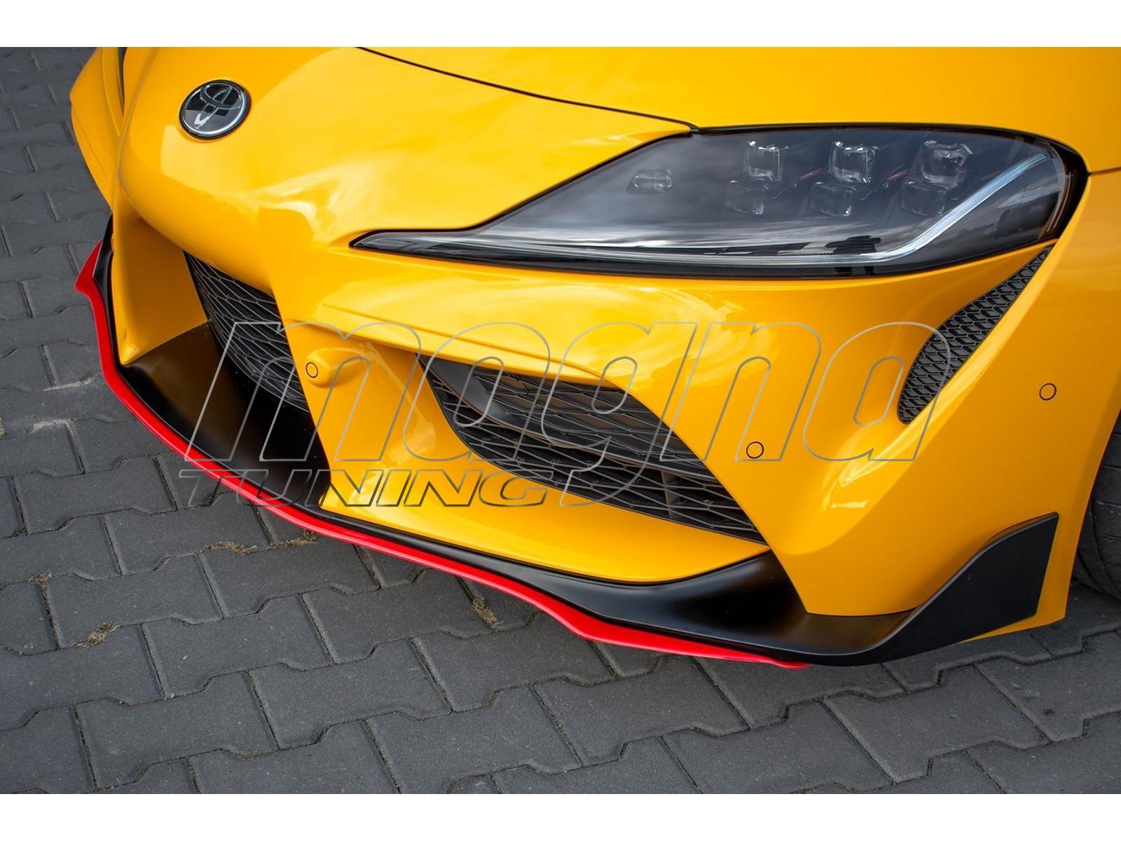 Toyota Supra MK5 Matrix Front Bumper Extension