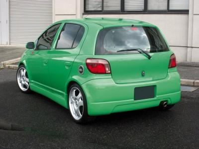 Toyota Yaris Japan Rear Bumper