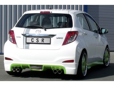 Toyota Yaris MK3 Crono Rear Bumper Extension