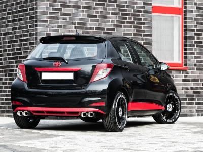 Toyota Yaris MK3 Mystic Heckansatz