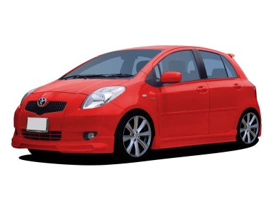 Toyota Yaris Street Front Bumper Extension