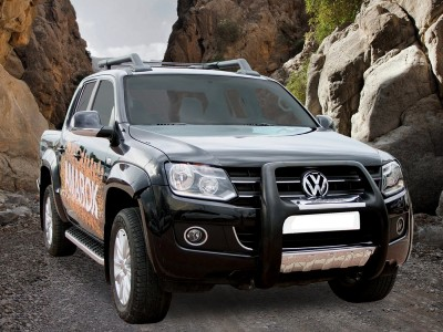 VW Amarok Helios Running Boards