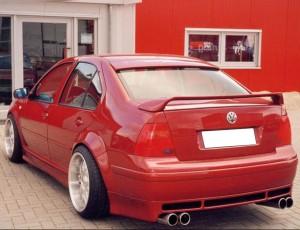 VW Bora Intenso Rear Bumper Extension