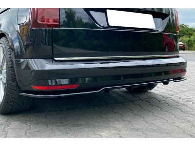 VW Caddy 2K Facelift MX2 Rear Bumper Extension