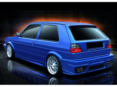 VW Golf 2 A-Style Rear Bumper