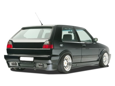 VW Golf 2 GT5 Rear Bumper with Number Plate Support