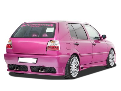 VW Golf 3 GT5 Rear Bumper with Number Plate Support