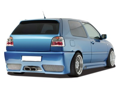 VW Golf 3 GTX-Race Rear Bumper with Number Plate Support