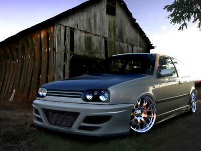 VW Golf 3 H2 Body Kit