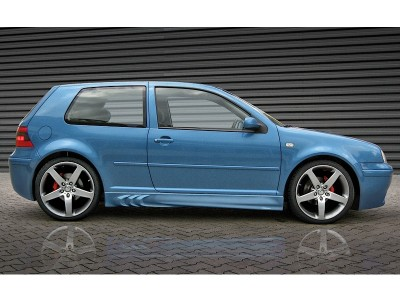 VW Golf 4 3D Side Skirts