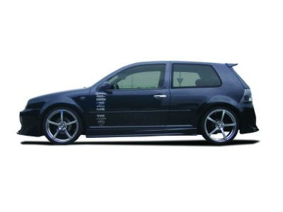 VW Golf 4 Krom Side Skirts