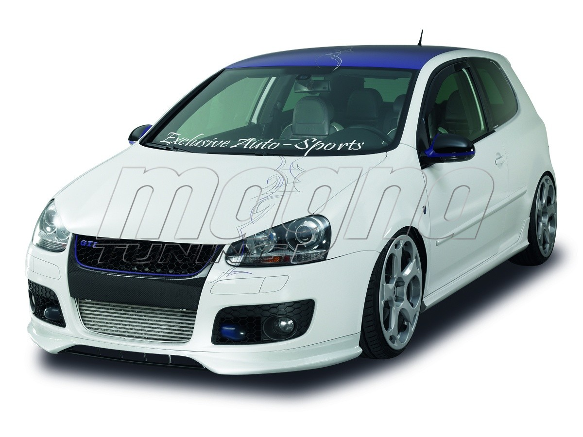 vw golf 5 gt gti newline front bumper extension. Black Bedroom Furniture Sets. Home Design Ideas