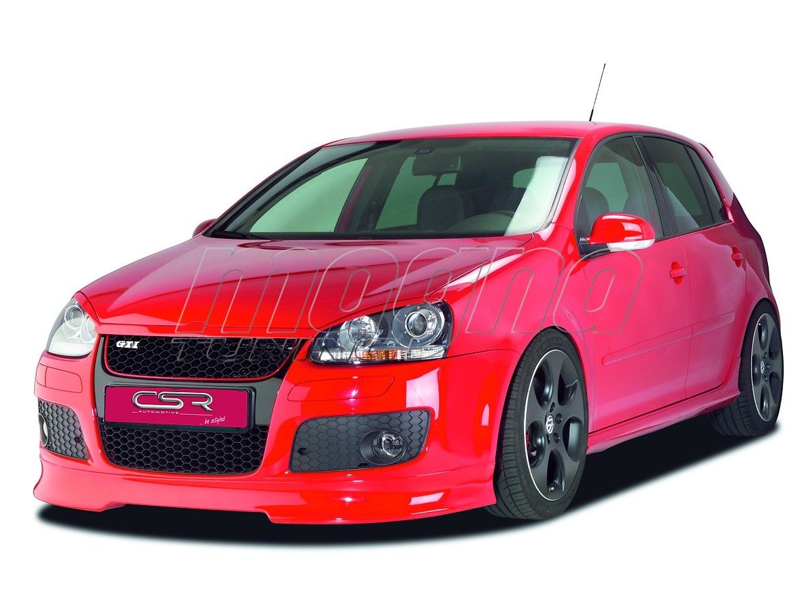 vw golf 5 gt gti xl line front bumper extension. Black Bedroom Furniture Sets. Home Design Ideas