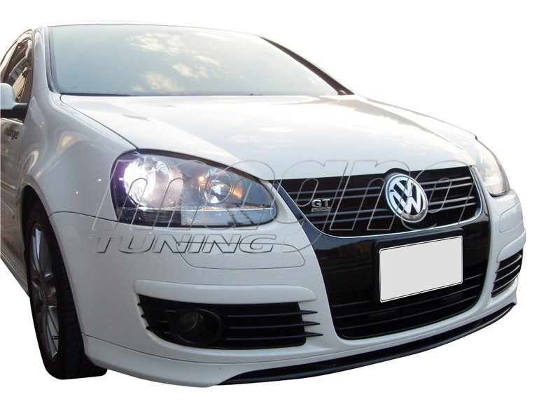 vw golf 5 gt gti vr front bumper extension. Black Bedroom Furniture Sets. Home Design Ideas