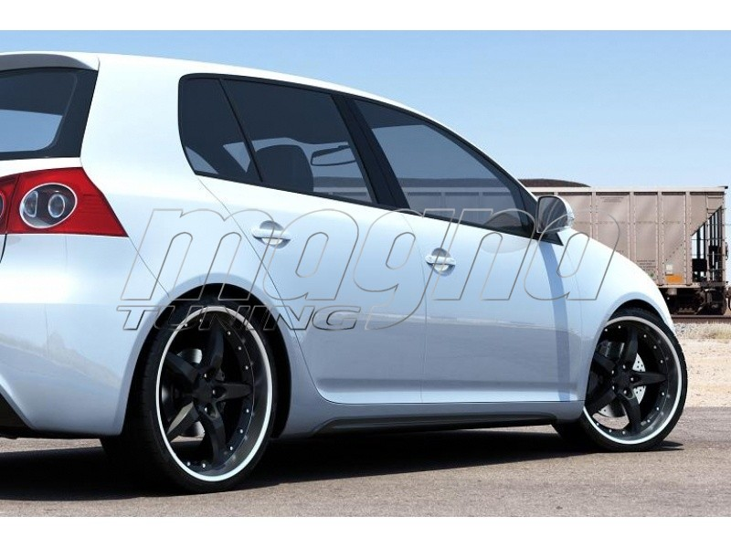 Vw Golf 5 Gti R Look Side Skirts