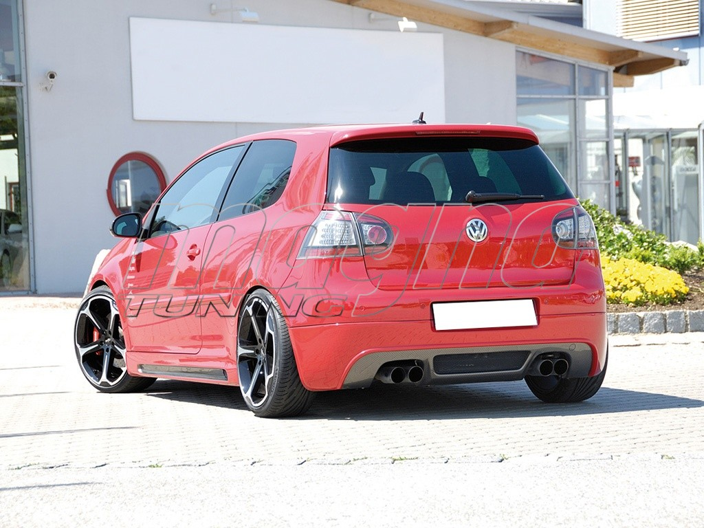 vw golf 5 gti vortex heckansatz
