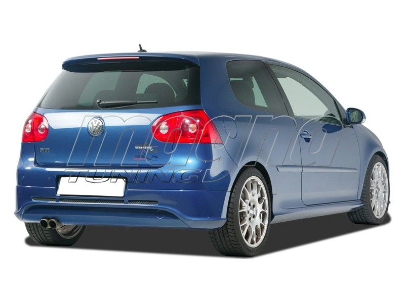 vw golf 5 r line rear bumper extension. Black Bedroom Furniture Sets. Home Design Ideas