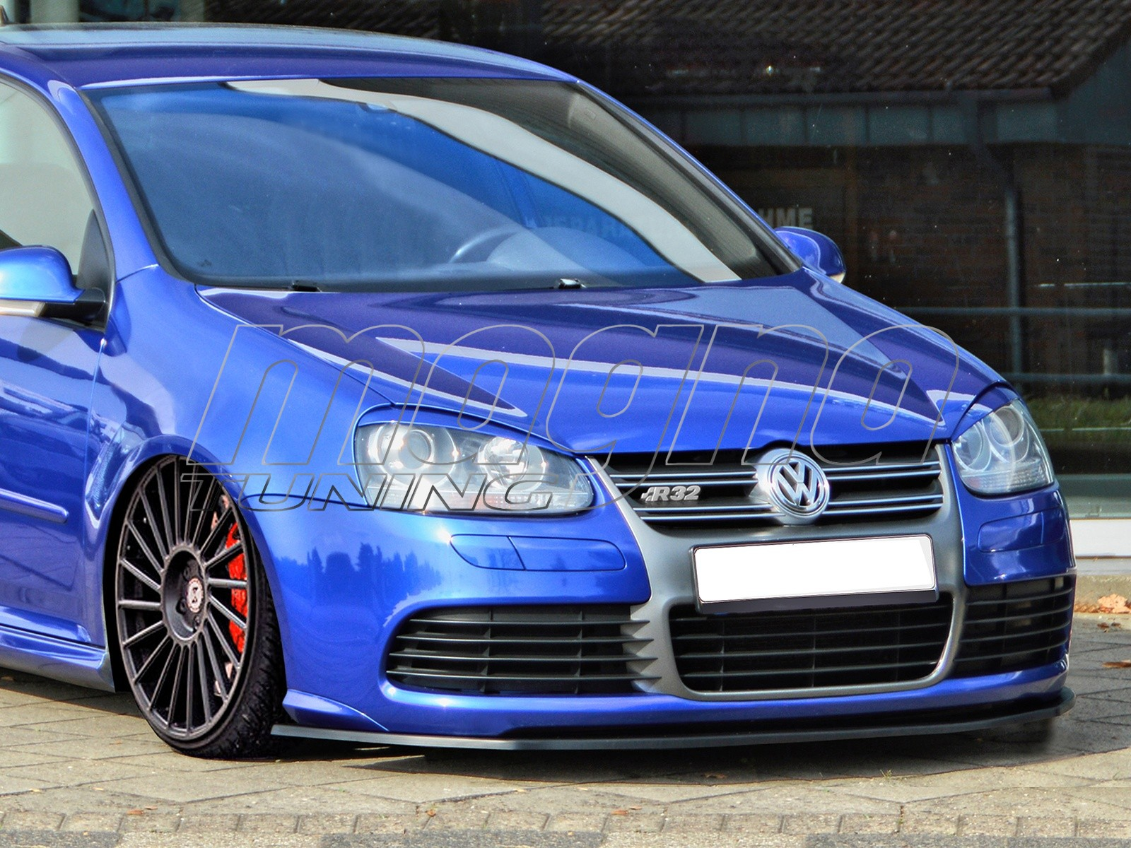 vw golf 5 r32 iris front bumper extension. Black Bedroom Furniture Sets. Home Design Ideas