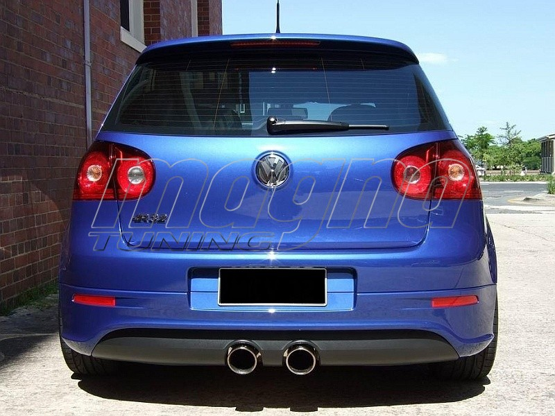 vw golf 5 r32 look rear bumper extension. Black Bedroom Furniture Sets. Home Design Ideas