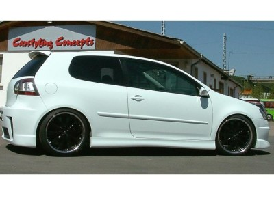 VW Golf 5 RS Side Skirts