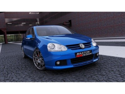 VW Golf 5 Votex-Look Front Bumper Extension