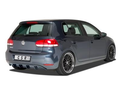 VW Golf 6 Cryo Rear Bumper Extension