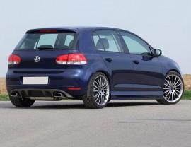 VW Golf 6 E-Style Rear Bumper Extension