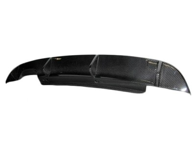VW Golf 6 GTD DTM-Style Carbon Fiber Rear Bumper Extension