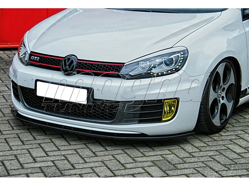 vw golf 6 gti i line front bumper extension. Black Bedroom Furniture Sets. Home Design Ideas