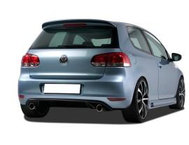 VW Golf 6 GTI-Look Rear Bumper Extension