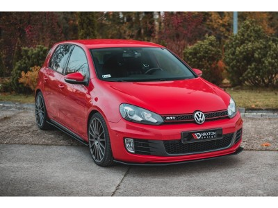 VW Golf 6 GTI Matrix Front Bumper Extension