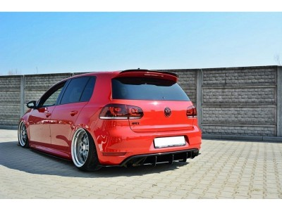 VW Golf 6 GTI RaceLine Rear Bumper Extension