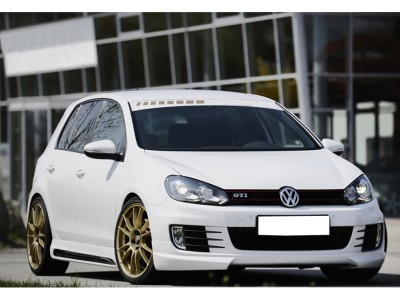 VW Golf 6 GTI V2 Front Bumper Extension