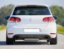 VW Golf 6 GTI V2 Heckansatz
