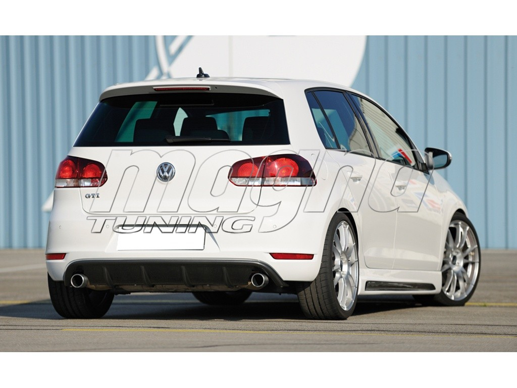 vw golf 6 gti v2 rear bumper extension. Black Bedroom Furniture Sets. Home Design Ideas