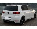 VW Golf 6 GTS Heckansatz