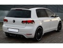 VW Golf 6 GTS Rear Bumper Extension