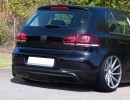 VW Golf 6 Iris Rear Bumper Extension