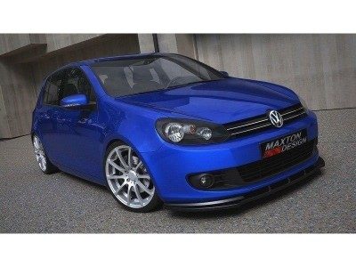 VW Golf 6 M-Style Front Bumper Extension