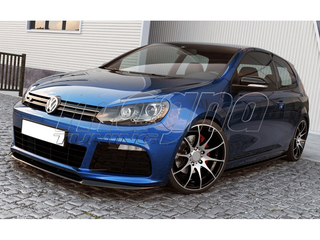 Vw Golf 6 R C Look Front Bumper Extension