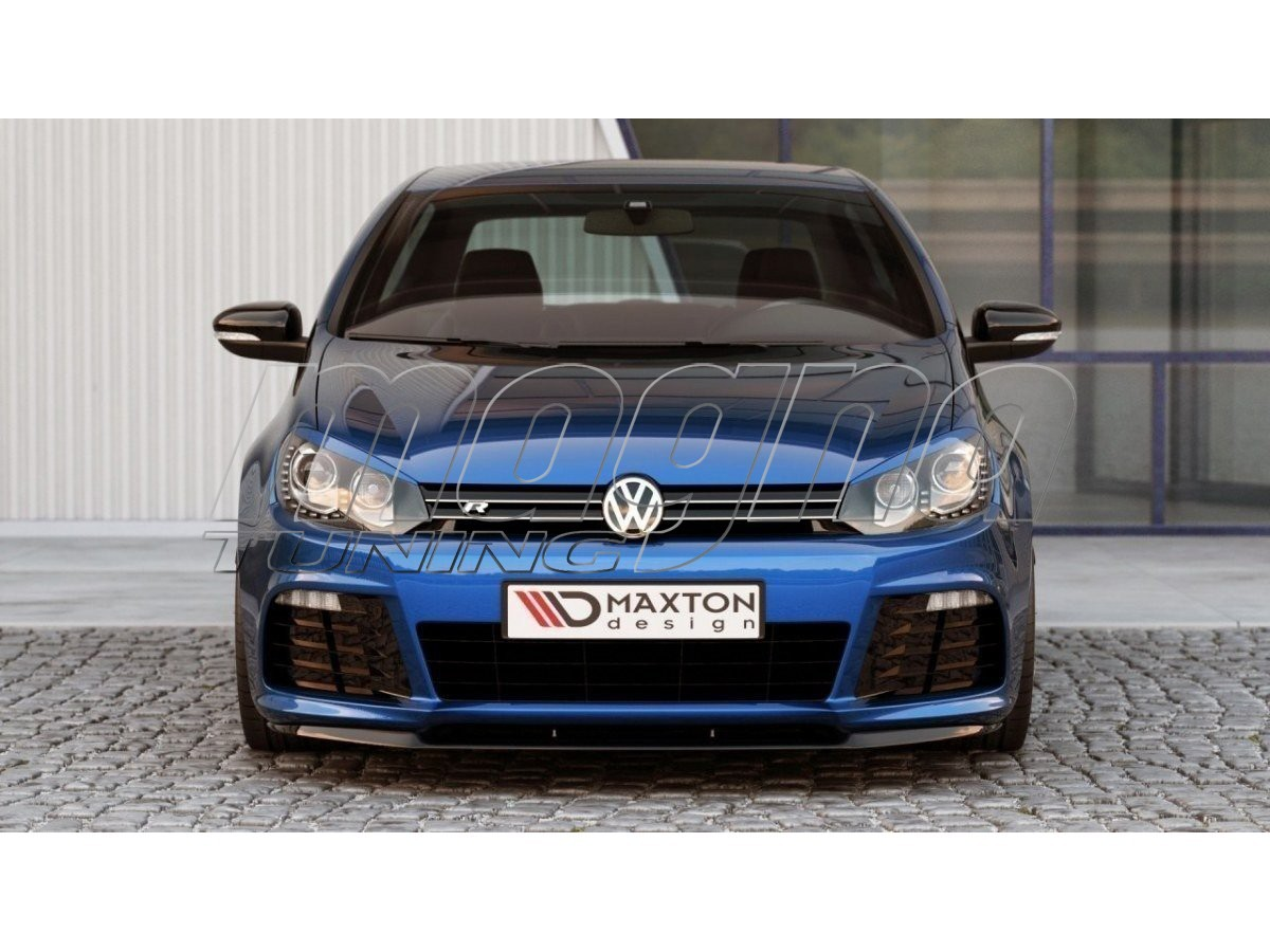 vw golf 6 r c look front bumper extension. Black Bedroom Furniture Sets. Home Design Ideas