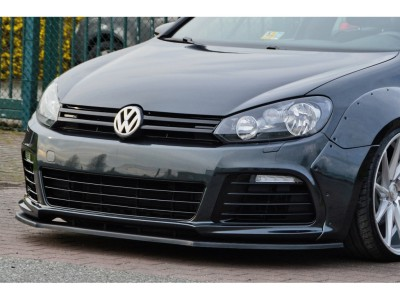 VW Golf 6 R L1 Front Bumper Extension
