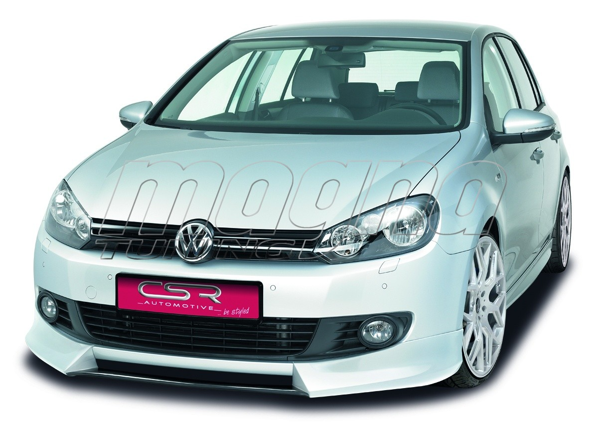vw golf 6 r line nx front bumper extension. Black Bedroom Furniture Sets. Home Design Ideas