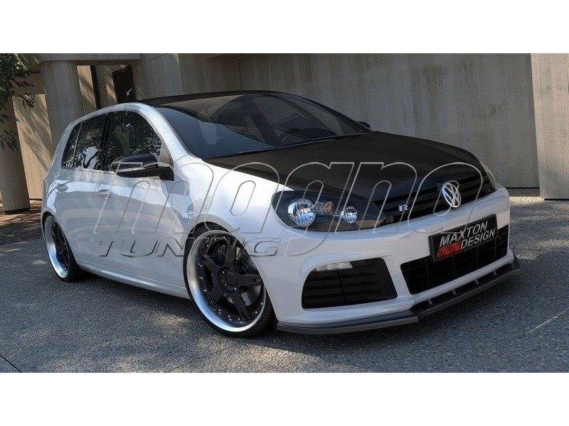 vw golf 6 r mx front bumper extension. Black Bedroom Furniture Sets. Home Design Ideas