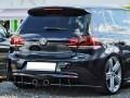 VW Golf 6 R Racer Rear Bumper Extension