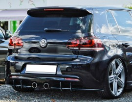VW Golf 6 R Racer Rear Bumper Extension