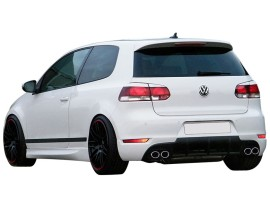 vw golf 6 rs rear bumper extension