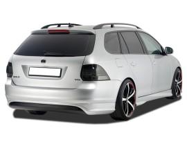 VW Golf 6 Redo Rear Bumper Extension