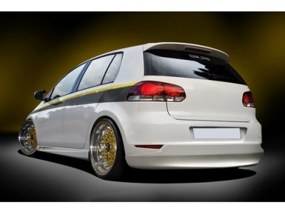 VW Golf 6 SX Rear Bumper Extension